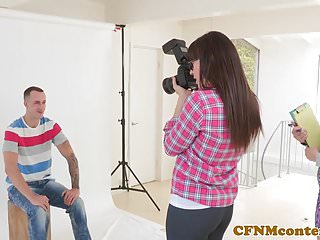 Steven naked photographer Cfnm femdom photographer ass fucks in trio