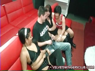 Swinging clubs cailf - Velvet swingers club threesome party real amateur euro swing