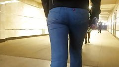 Tight ass in jeans