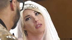 Gorgeous trans bride cheating with her ex lover BBC