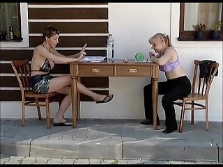 Young cock clips German clip