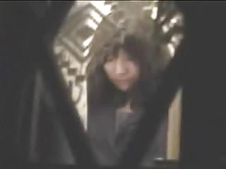 Teen window cam Bedtime for japanese teen window voyeur