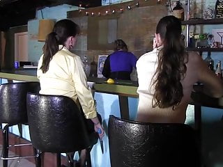 Women in their forties bondage spanking - 2 women in bar