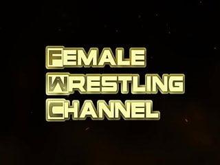 Shemale vs female Jennifer vs monroe real female competitive wrestling
