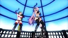 Sexy Touhou Dance
