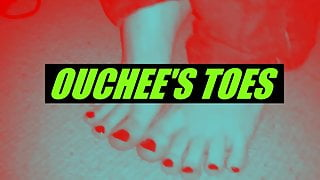 OUCHEE WANTS YOU TO SUCK HIS PAINTED TOES