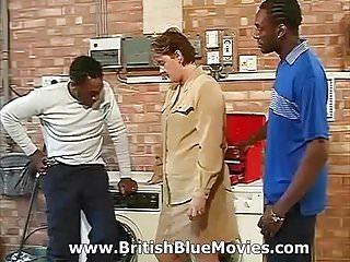Chubby house wife British interracial house wife