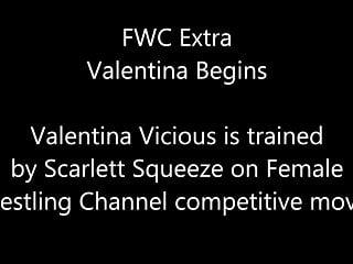 Women erotic wrestling girls Introducing valentina scarlett vs valentina women wrestling