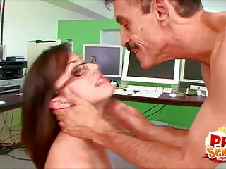 Hardcore ass and pussy eating Phat ass and busty secretary jennifer white fucked