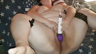 Bbwbootyful Electric Wand Tumbling Orgasm