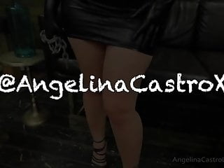 Asian angelina video Big titted angelina castro cocks domination