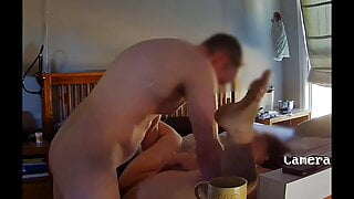 Cumming in and on the pussy of my boss' Sexy Slutty BBW Wife