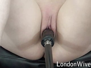 Puffy pussy sex Tight, puffy pussy fucked by sex machine