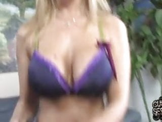 Julia interracial mature - Posh cougar julia ann gets many black cocks in front of