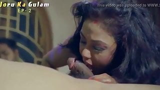 Indian family threesome fucking web series