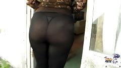 Thong legging