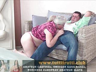 Slut granny stories - Hairy euro slut granny first porn