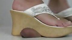 High Heels Heidis side-Sandals and Flip Flop Dancing trample