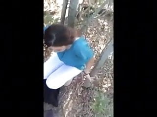 Young girlfriend suck Young girlfriend sucks in the woods
