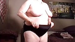 Spying On My Big Tit Auntie Undressing In The Guest Bedroom