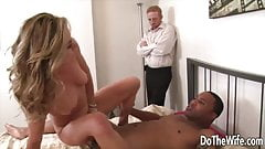 Do The Wife - Beautiful Wives Drilled in Cowgirl Compilation