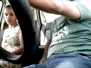 1 car vintage - Nice hooker sucking and fucking in the car - hidden cam 1