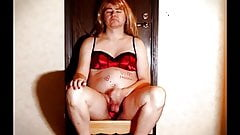 Humiliated sissy fag jerking off reluctantly for you