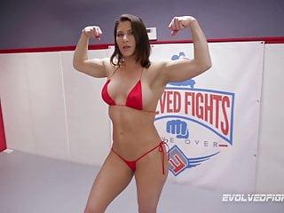 Free lesbian wrestling - Lesbian wrestling has ariel x dominating bella rossi roughly