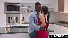 BLACKED - Valentina Nappi takes the biggest bbc in the world