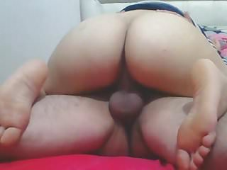 How to orgasm woman on top - Malay - woman on top close up