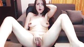 Lina fucking, bating, whipping