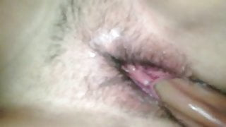 Dirty welsh wife squirts while enjoying cock