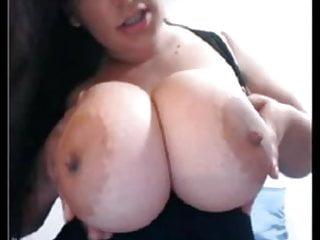 Humongous bbw black tits - Ronja web showing humongous boobs