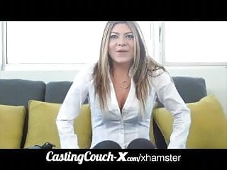 Milf facial dumb Castingcouch-x dumb blonde coed needs