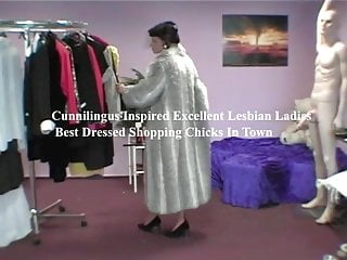 Porn inspirational poster Inspired excellent lesbian ladys on shopping trip