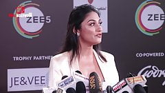 desi hot, local actress with visible nipple on the red carpet