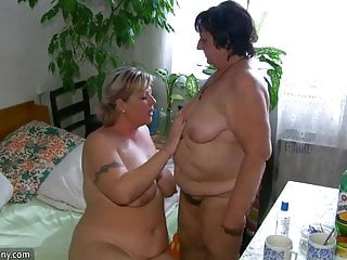 Old and fat in pantyhose - Oldnanny chubby fat granny and fat mature suck dick and lick