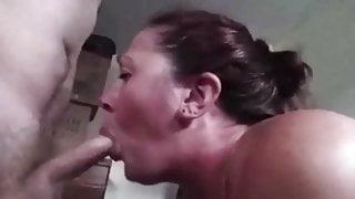 Sucking Cock For Cum !!