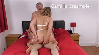At Home with the Creampies Featuring Candy on the bed – Promo