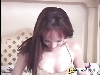Adult toy stories - Babe pleases her pussy with an adult toy in homemade clip