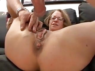 Milf teacher gets fucked - Milf with glasses gets fucked hard