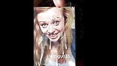 Jill gets super squirt creamy facial CUm tribute