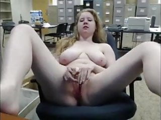 Naked at 30 - Masturbating naked at the office