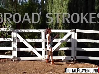 J strokes porn videos Xxx porn video - broad strokes - aria alexander