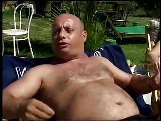 Sexy fat young girlstube - Sexy blond spoils a fat old man