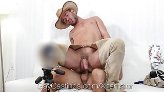 GayCastings - Hung Alex Mason Pounded at Porn Audition
