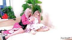 Lesbian soft BDSM humiliation