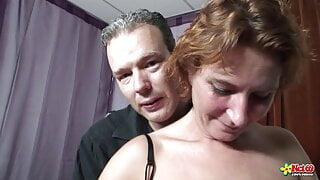 Squirting MILF tries anal for the first time