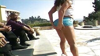 Naomi Gangbanged By Black Dudes (4K Upscale)