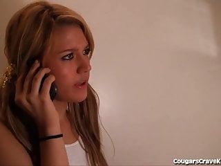Teen girl lesbian videos - Sweet teen girl seduced by horny milf